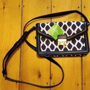 Vera Bradley Tess Crossbody Ikat Spots handbag